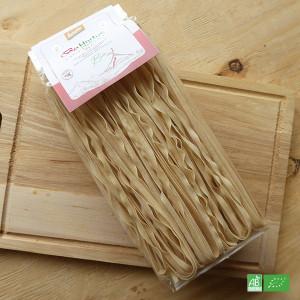 Pâtes Tagliatelles italiennes en Bio Demeter, origine Italie