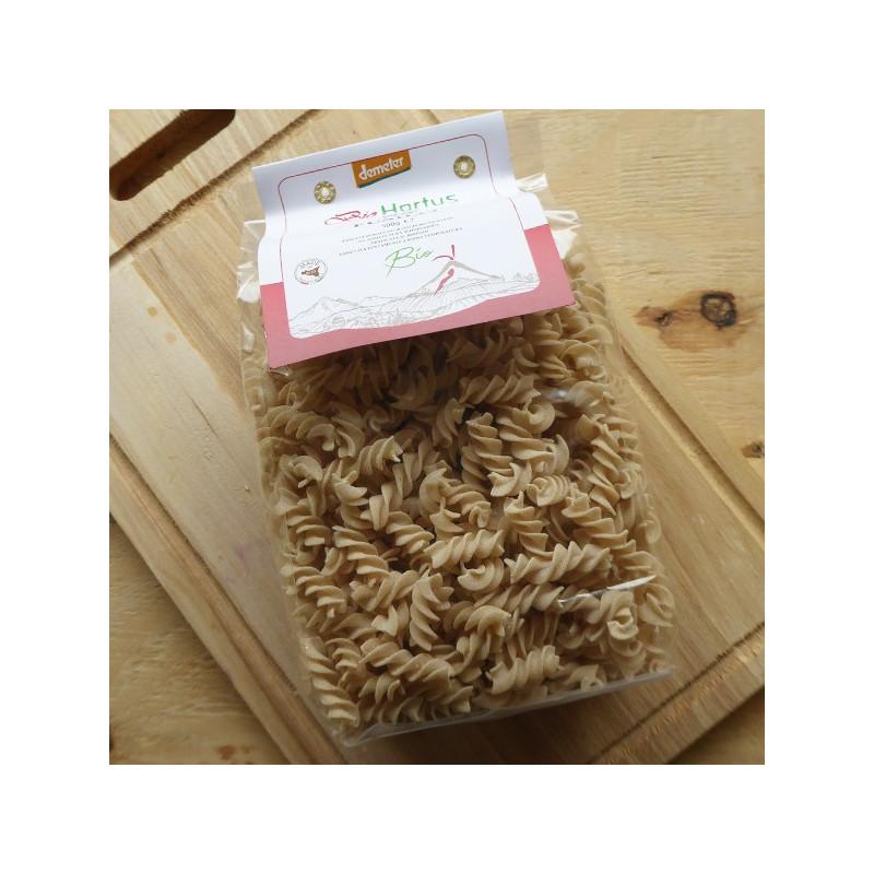 Pâtes traditionnelles Fusilli bio Demeter, origine Italie
