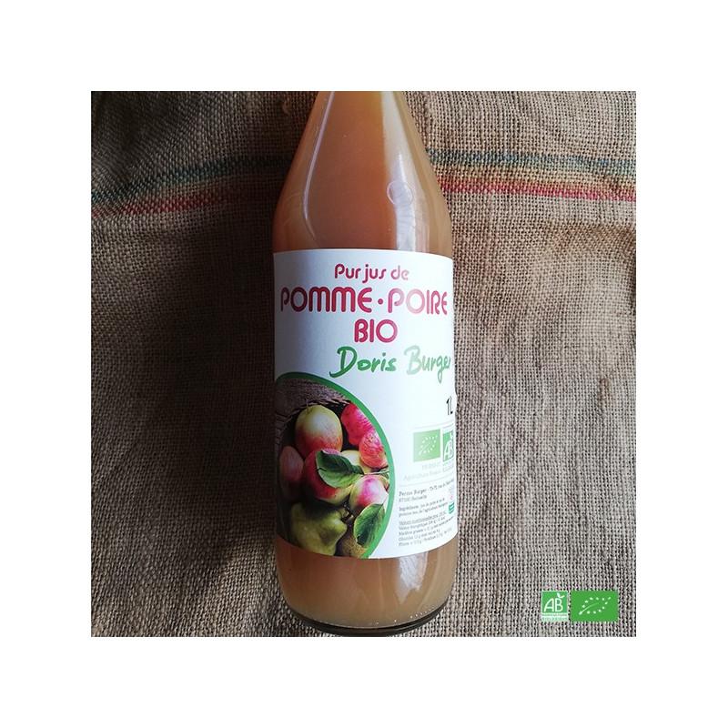 Jus de pomme poire bio de la ferme BURGER à Steinseltz