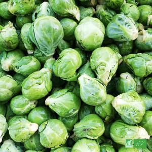 Choux Bruxelles bio cultivés par notre maraîcher bio local, la Ferme VEGETAL RESPEKT à Sturzelbronn