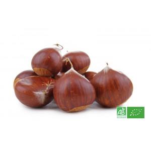 Marrons bio d'Ardêche, producteur d'arbres fruitiers bio partenaire de la ferme bio en Alsace Moselle