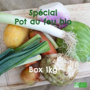 Mélange de Légumes bio essentiels à la préparation de délicieux Pot au feu bio