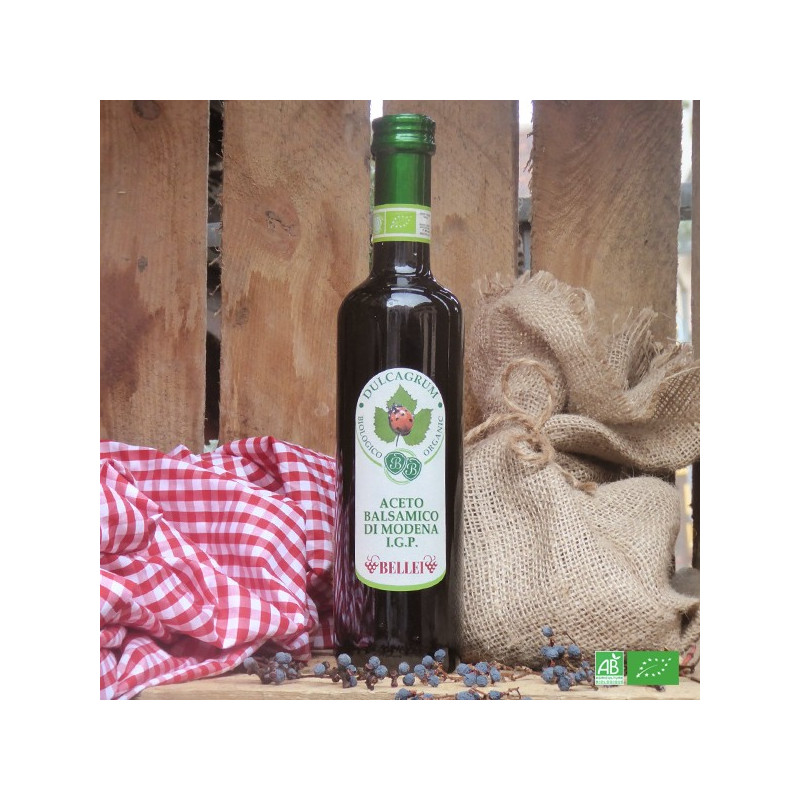 Vinaigre de vin balsamique bio de Modène, Maison Bellei i Figli