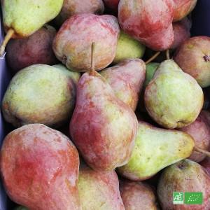 Box 2kg Poires bio de table issues des récoltes de nos Producteurs fruitiers 100% Bio en Alsace