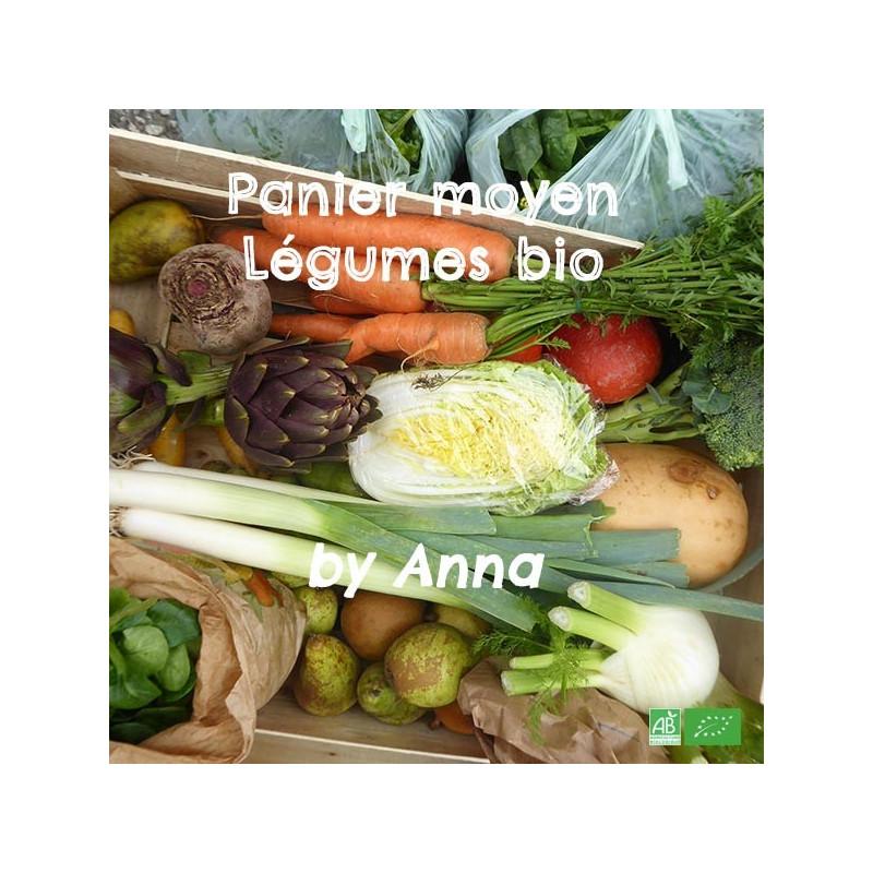 Assortiment de Légumes bio frais / Format moyen pour Petite tribu / by Anna