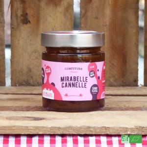 Confiture de Mirabelle bio et Cannelle - Fabrication artisanale française - Maison Délices de l'Ogresse