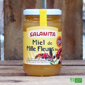 Miel bio Demeter aux Mille Fleurs - Fabrication artisanale italienne - Maison Salamita