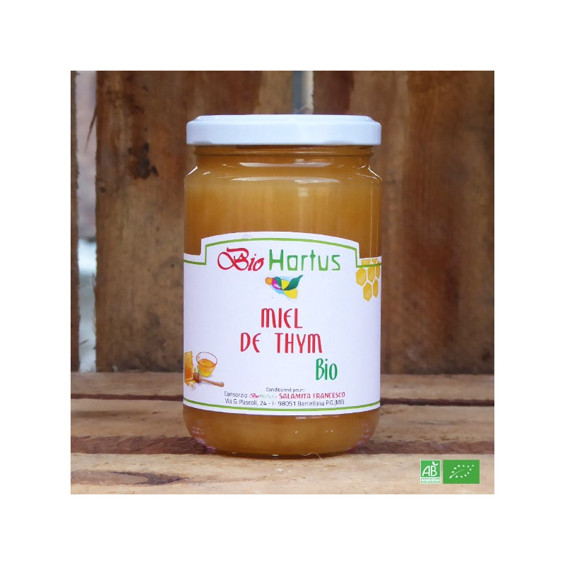 Miel de Thym bio d'Italie - Fabrication artisanale italienne - Maison Salamita