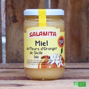 Miel de Fleurs d'Orangers bio de Sicile - Fabrication artisanale italienne - Maison Salamita