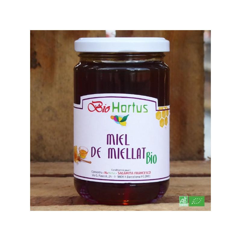 Miel de Miellat bio d'Italie - Fabrication artisanale italienne - Maison Salamita Bio Hortus