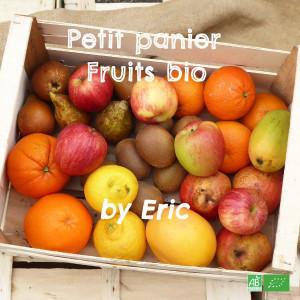 Petit Panier Fruits bio de saison / Fruits bio en Circuit Court récoltés par nos partenaires Producteurs bio
