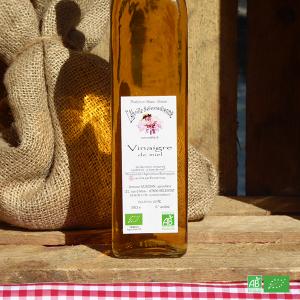 Vinaigre de Miel bio en direct de l'Apiculteur bio d'Alsace