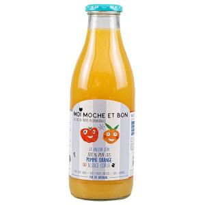 Pur jus de Pommes d'Alsace & Oranges de Corse pressé artisanalement en Alsace