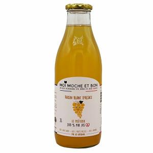 Pur jus de Raisin blanc pressé artisanalement en Alsace