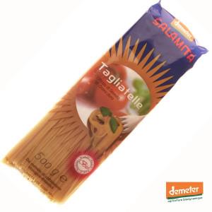 Pâtes Tagliatelle bio Demeter, fabrication artisanale de la coopérative italienne Salamita