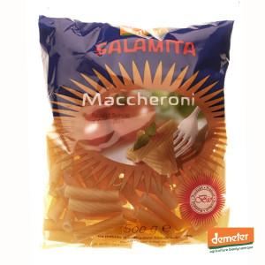 Maccheroni bio Demeter - Fabrication traditionnelle italienne - Coopérative Salamita