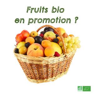 Fruits bio en promotion, avec une maturité avancée. Il s'agit aussi d'invendus sur nos stands marché