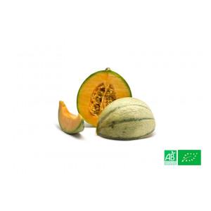 Melon charentais cultivé aux normes bio AB pour le compte de notre ferme écologique VEGETAL RESPEKT