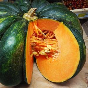 Courge musquée bio dite Courge Muscade de Provence, cultivée par nos Producteurs Maraîchers en Alsace et Moselle
