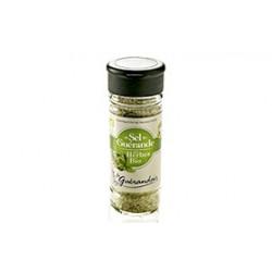 Sel de Guérande aux herbes bio Le Guérandais, proposé par une coopérative de producteurs pour la Ferme Bio VEGETAL RESPEKT
