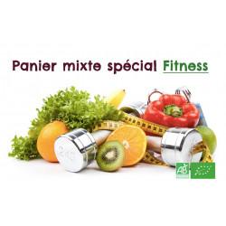 Amis sportifs, achetez en 1 clic un panier bio mixte avec fruits & légumes et produits alimentaires essentiels au régime sportif