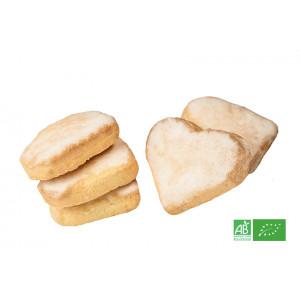 Biscuit sablé bio (butter bredele) glacé au kirsch d'Alsace, biscuiterie ARTZENCO, livraison GRATUITE en ALSACE MOSELLE
