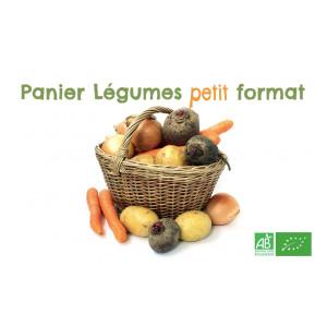 Achetez en 1 clic ce panier bio petit format, assortiment de fruits & légumes bio frais, livraison GRATUITE