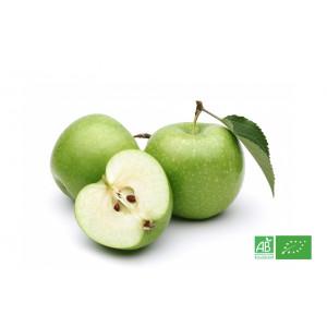 Pomme verte Granny Smith de producteurs bio partenaire de notre maraicher bio MA-FERME-BIO.com