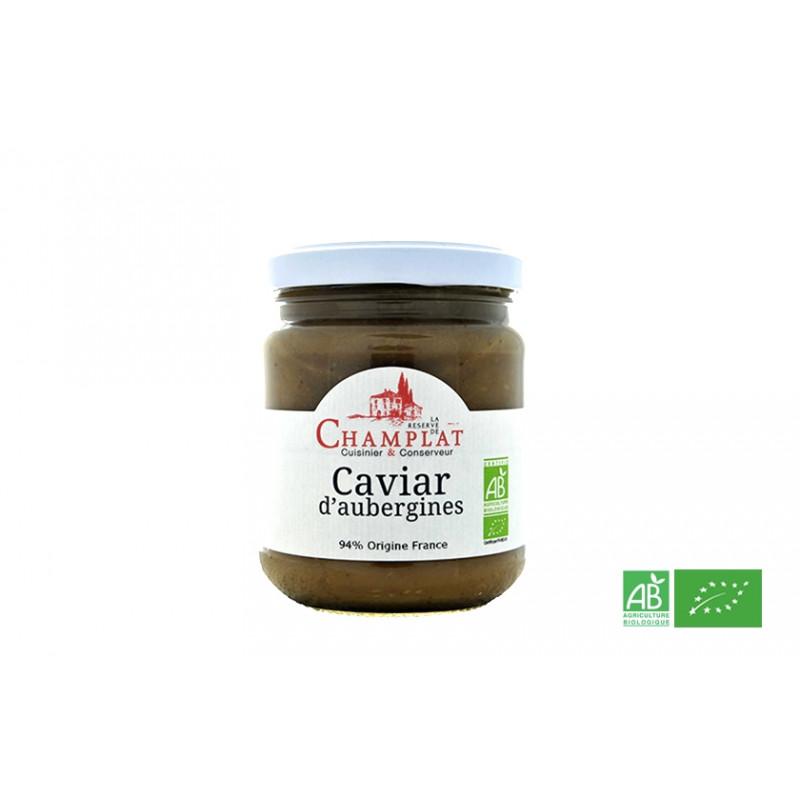 Caviar d'aubergines de la Réserve de Champlat, en Alsace Lorraine