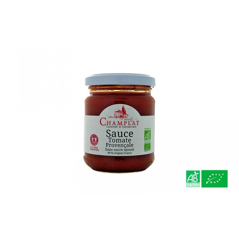 Sauce tomate provençale de la Réserve de Champlat en Alsace Lorraine