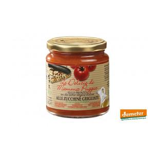 Sauce tomate Demeter aux courgettes, de la maison Terre Di San Georgio