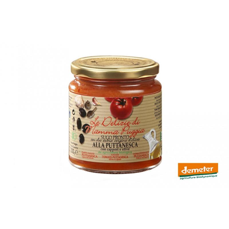 Sauce tomate Demeter puttanesca de la maison Terre Di San Georgio
