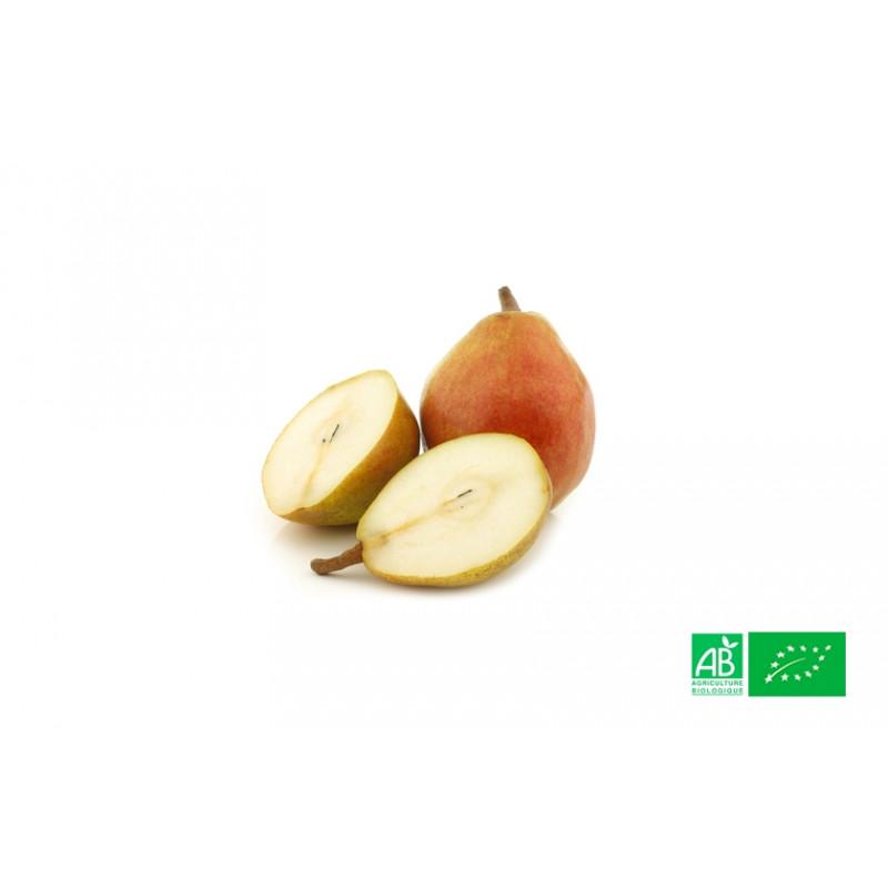 Poire Comice cultivée aux normes bio AB pour le compte de notre ferme écologique VEGETAL RESPEKT