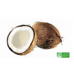 Noix de coco bio cultivée selon les méthodes de l'Agriculture biologique, magasin producteur bio en Alsace Moselle