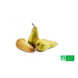 Poire Abate d'Argentine cultivée selon les normes bio AB pour le producteur bio VEGETAL RESPEKT en Alsace Moselle