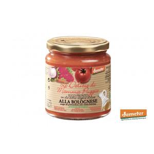 Sauce tomate bolognaise bio Demeter au boeuf de la conserverie bio TERRE DI SAN GIORGIO en Italie