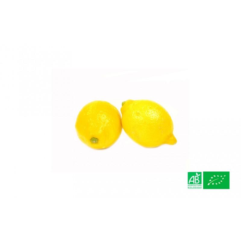 Citron jaune bio de Sicile