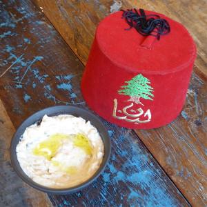 Caviar d'Aubergines frais du Traiteur Libanais AL DIWAN à Strasbourg